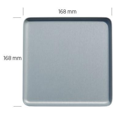 Vermassung Tablett 16,8x16,8cm