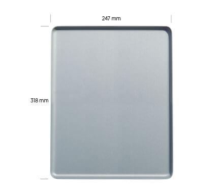Vermassung Tablett Jeves 31,8x24,7 cm