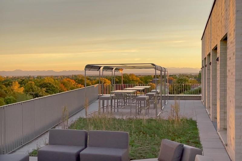 Elegante Hochwertige Lounge Terrassenmöbel Gastronomie