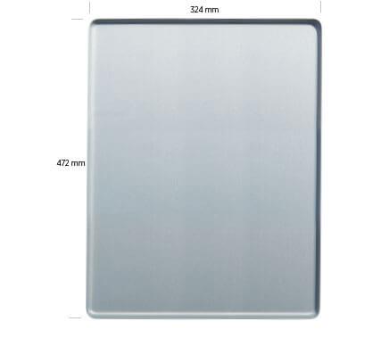 Vermassung Tablett Jeves 47,2x 32,4cm