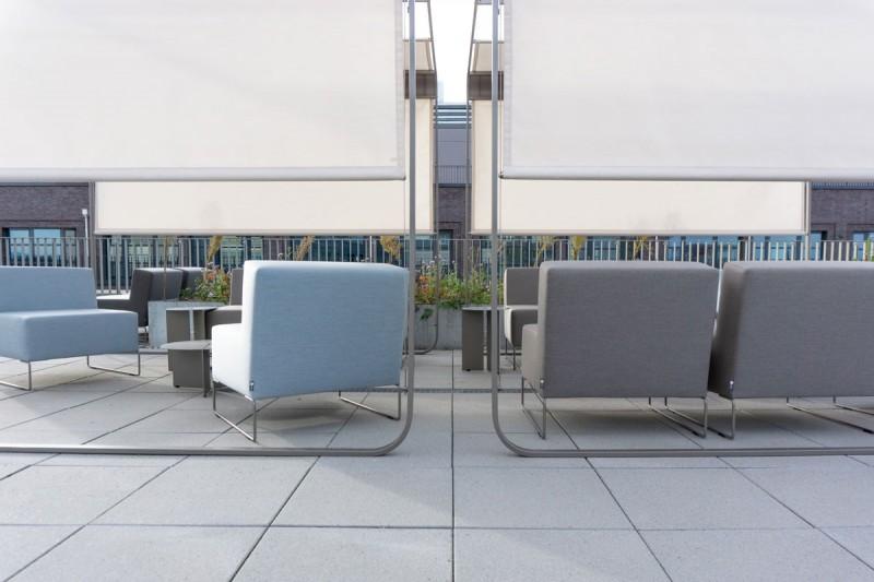 Elegante Hochwertige Lounge Terrassenmobel Gastronomie