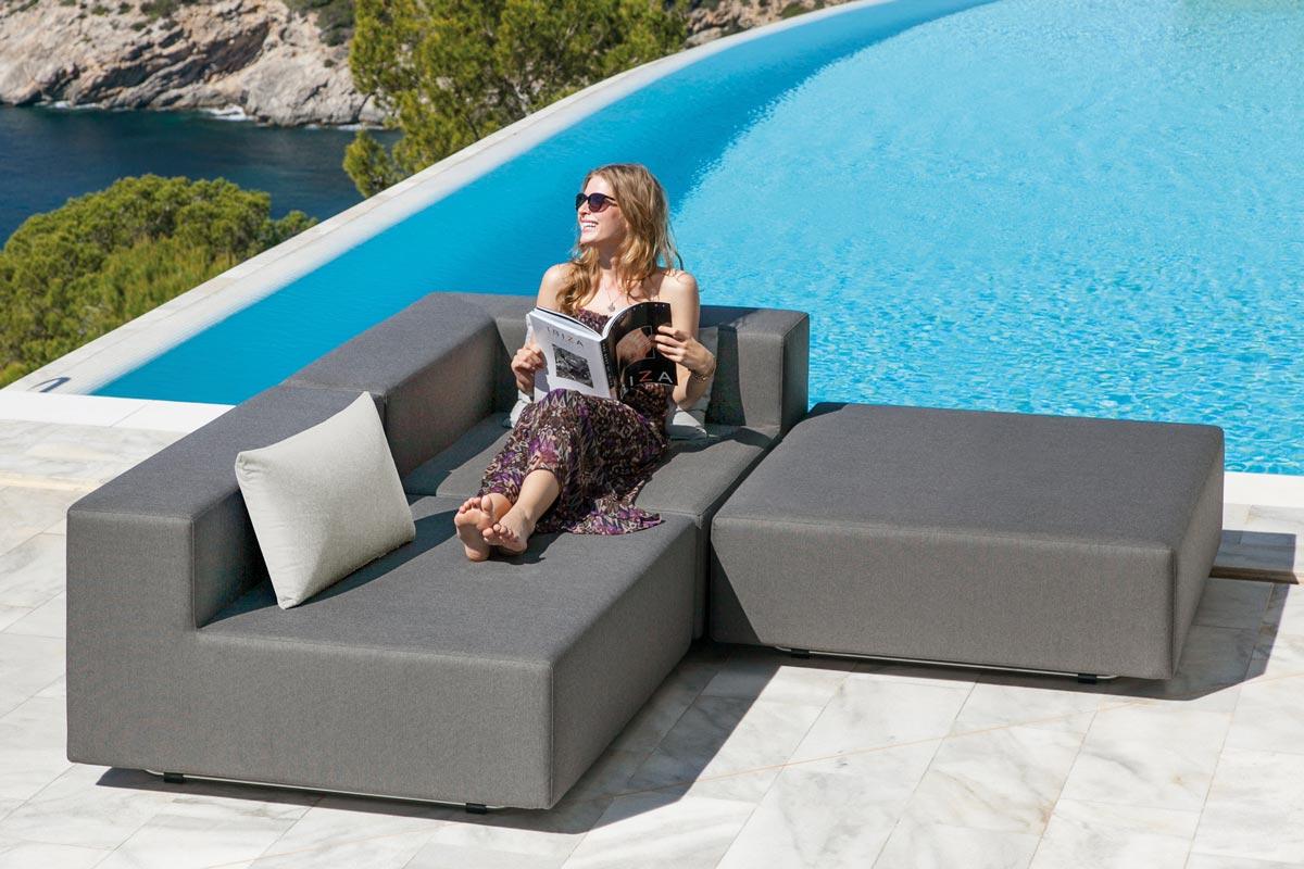 Balkon Lounge Set